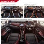 Beragam pilihan warna interior Nissan March 2018