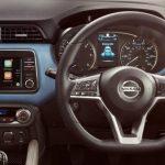 Tampilan Interior Nissan March 2018 yang dilengkapi dengan berbagai fitur atraktif