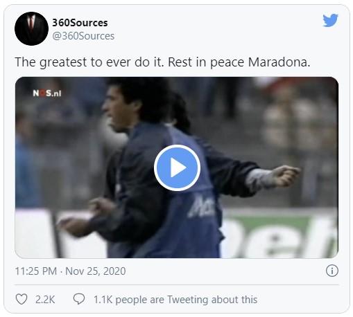 maradona mati